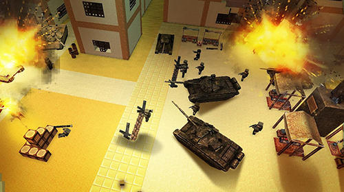 Capturas de pantalla de Call of craft: Blocky tanks battlefield para tabletas y teléfonos Android.