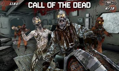 Screenshots von Call of Duty Black Ops Zombies für Android-Tablet, Smartphone.