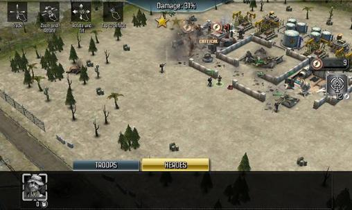 Jogue War zone: World of rivals para Android. Jogo War zone: World of rivals para download gratuito.