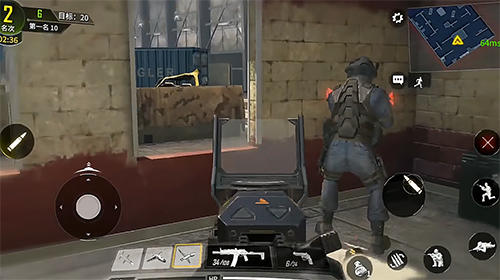 Screenshots von Call of duty mobile für Android-Tablet, Smartphone.