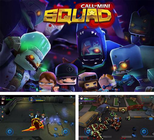 In addition to the game Call of Mini: Brawlers for Android phones and tablets, you can also download Call of mini: Squad for free.