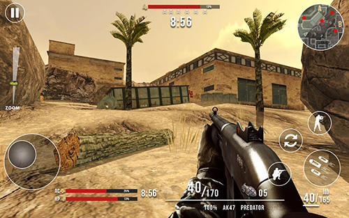 Screenshots do Call of modern world war: Free FPS shooting games - Perigoso para tablet e celular Android.