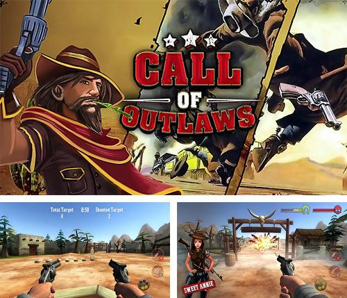 In addition to the game Outset: Zombie hunter for Android phones and tablets, you can also download Call of outlaws for free.
