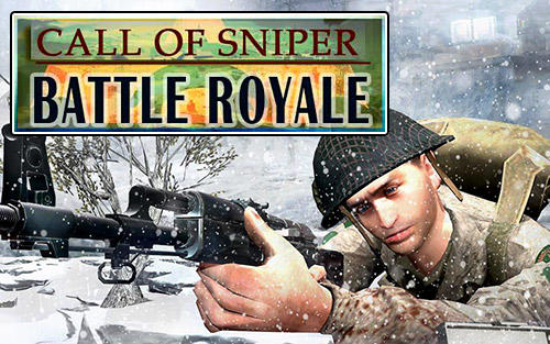 Call of sniper battle royale: WW2 shooting game poster