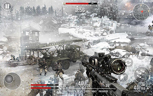 Call of sniper battle royale: WW2 shooting game screenshot 3