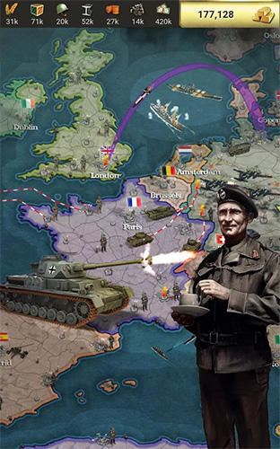 Call of war 1942: World war 2 strategy game for Android