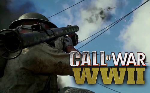 Call of war WW2: FPS frontline shooter poster