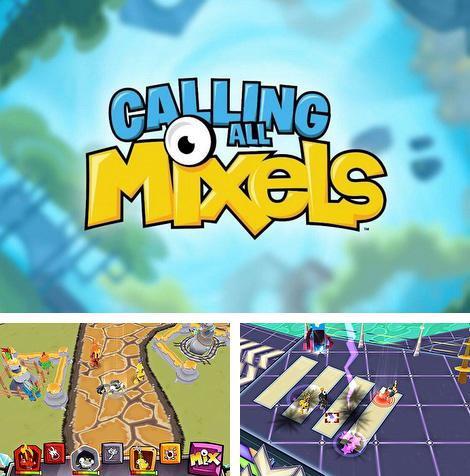 In addition to the game Rock bandits: Adventure time for Android phones and tablets, you can also download Calling all mixels for free.