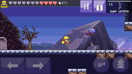 Screenshots von Cally's caves 3 für Android-Tablet, Smartphone.