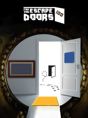 Can you escape 100 doors poster