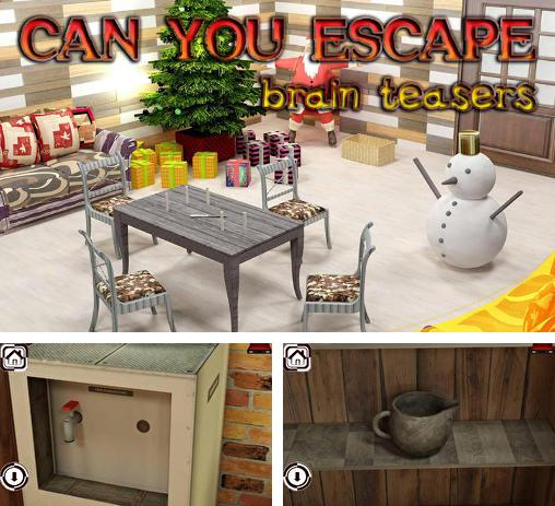 In addition to the game The great zoo escape for Android phones and tablets, you can also download Can you escape: Brain teasers for free.