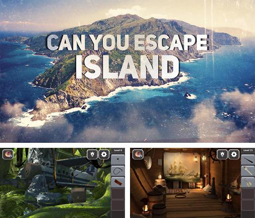 In addition to the game Treasure hunters for Android phones and tablets, you can also download Can you escape: Island for free.