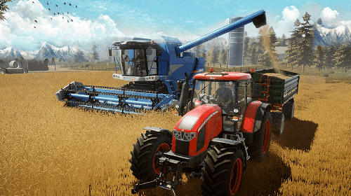 Get full version of Android apk app Canada's organic tractor farming simulator 2018 for tablet and phone.