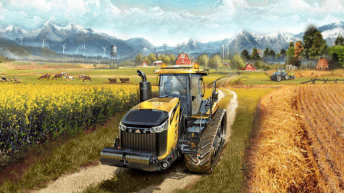 Screenshots do Canada's organic tractor farming simulator 2018 - Perigoso para tablet e celular Android.