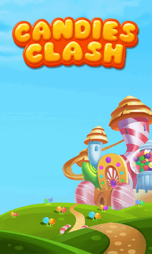 Candies clash poster