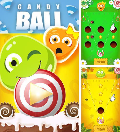 In addition to the game Tesla tubes for Android phones and tablets, you can also download Candy ball for free.
