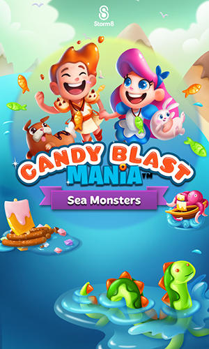 Candy blast mania: Sea monsters обложка