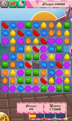 Геймплей Candy Crush Saga для Android телефону.
