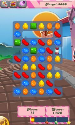 Гра Candy Crush Saga на Android - повна версія.