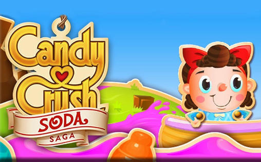 Candy crush: Soda saga poster