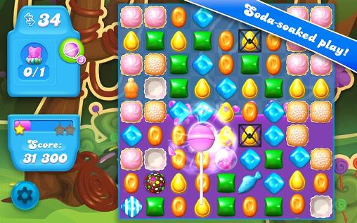 Candy crush: Soda saga für Android spielen. Spiel Candy Crush: Soda Saga kostenloser Download.
