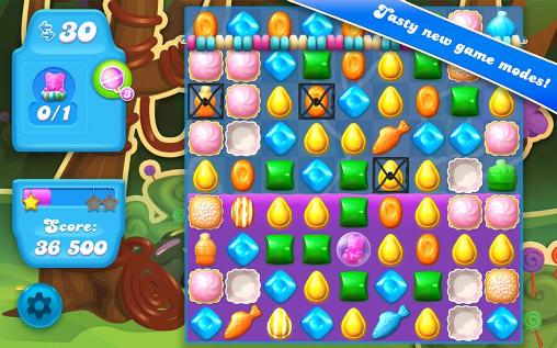 Screenshots von Candy crush: Soda saga für Android-Tablet, Smartphone.