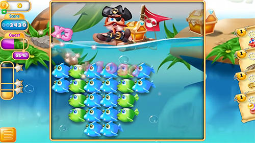Juega a Candy fishes: Fish pop para Android. Descarga gratuita del juego Peces de caramelos: Explosión de peces.