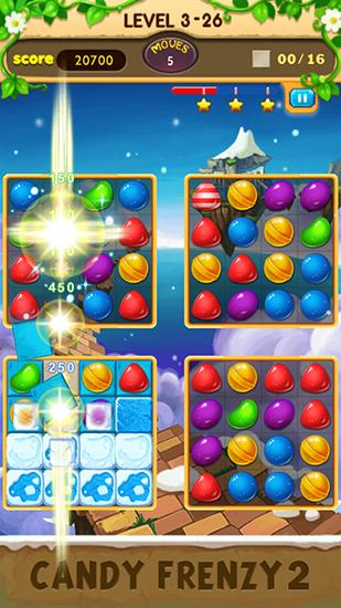 Candy frenzy 2 screenshot 1