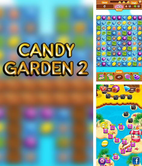 Candy garden 2: Match 3 puzzle