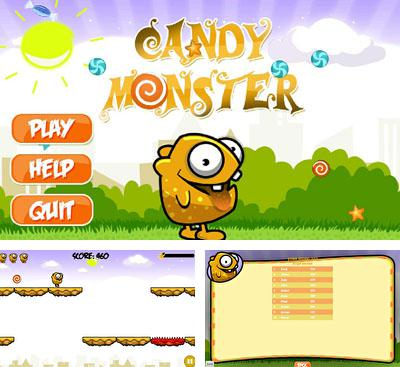 In addition to the game Canman Game for Android phones and tablets, you can also download Candy Monster for free.