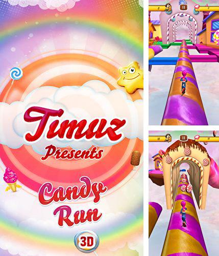 In addition to the game Help Out for Android phones and tablets, you can also download Candy run 3D for free.