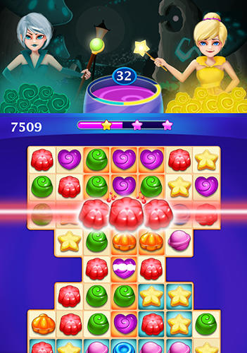 Гра Candy sweet: Match 3 puzzle на Android - повна версія.