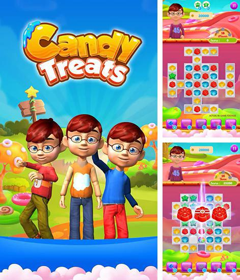 In addition to the game Sweet blast for Android phones and tablets, you can also download Candy treats for free.