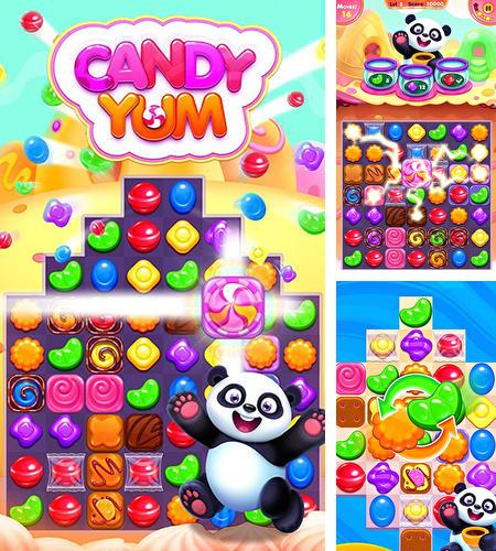 In addition to the game Tiger: The gems hunter match 3 for Android phones and tablets, you can also download Candy yummy for free.