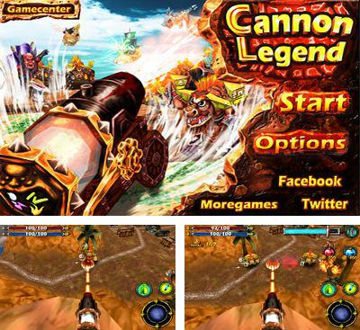 In addition to the game Waa Cha! for Android phones and tablets, you can also download Cannon Legend for free.