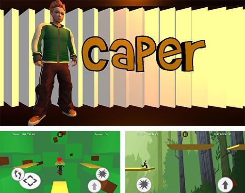 In addition to the game Rhino rush: Stampede for Android phones and tablets, you can also download Caper for free.