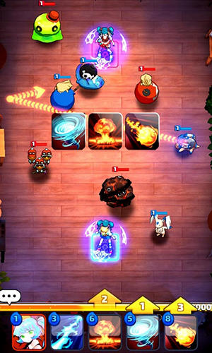 Screenshots von Capsulemon fight für Android-Tablet, Smartphone.