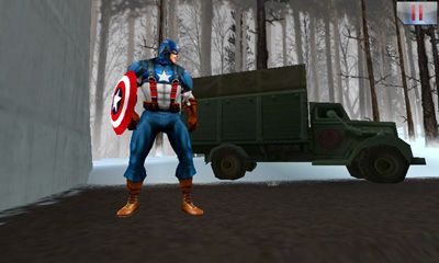Screenshots do Captain America. Sentinel of Liberty - Perigoso para tablet e celular Android.