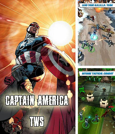 In addition to the game Thor 2: the dark world v 1.0.9 for Android phones and tablets, you can also download Captain America: The winter soldier for free.