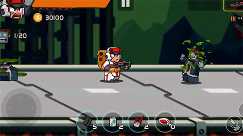 Download Game Android Captain zombie: Avenger