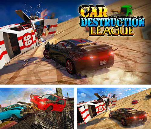 In addition to the game Angry truck canyon hill race for Android phones and tablets, you can also download Car destruction league for free.