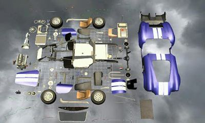 Screenshots von Car Disassembly 3D für Android-Tablet, Smartphone.