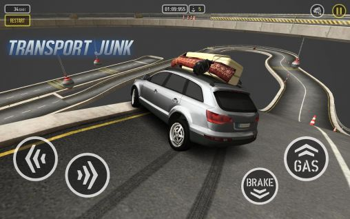 Juega a Car drive AT: Super parkour para Android. Descarga gratuita del juego Conduce AT: Súper parkour.