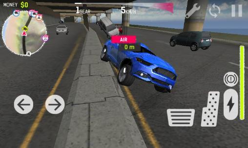 Screenshots von Car driving: Racing simulator für Android-Tablet, Smartphone.