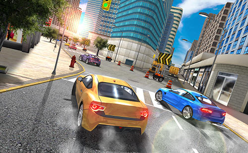 city car driving simulator game for android