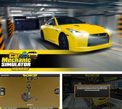In addition to the game Fix my car: Supercar shop for Android phones and tablets, you can also download Car mechanic simulator: Monroe for free.