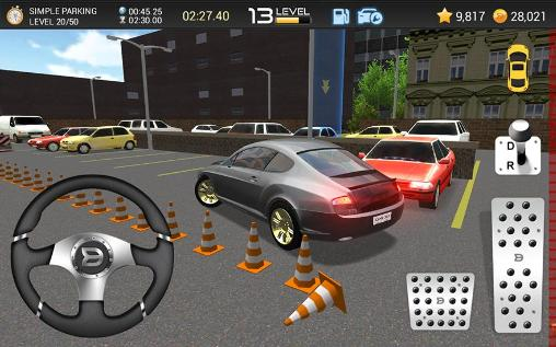 Juega a Car parking game 3D para Android. Descarga gratuita del juego Aparcamiento de coches .