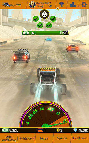 Car racing clicker: Driving simulation idle games screenshot 3