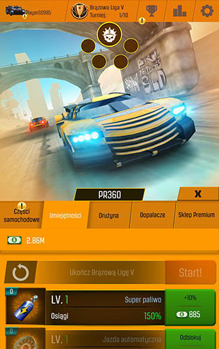 Car racing clicker: Driving simulation idle games screenshot 4