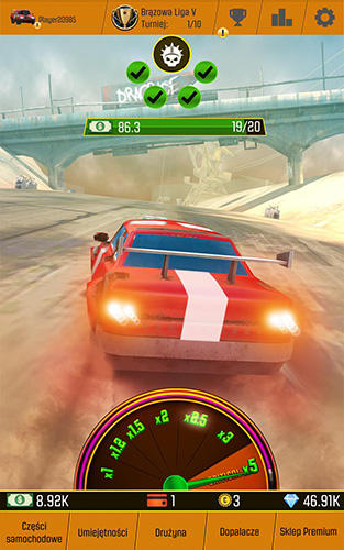 Car racing clicker: Driving simulation idle games screenshot 5